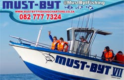 Must-Byt Deep Sea Fishing - Activities, Adventure and Things to Do on the South Coast of KwaZulu-Natal