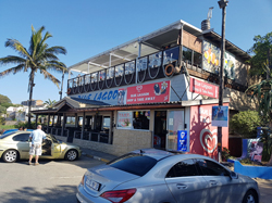 The Blue Lagon Restaurant and cocktail bar in Ramsgate on the South Coast of KwaZulu Natal